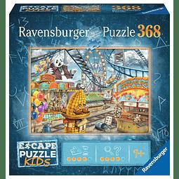 El parque de atracciones | Escape Puzzle Ravensburger 368 Piezas