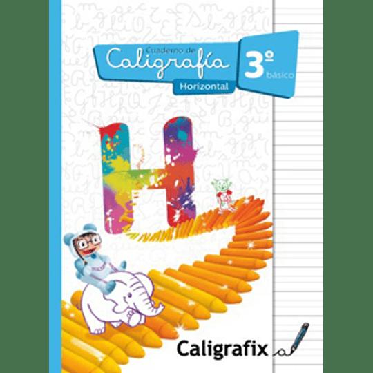 Cuaderno De Caligrafia 3 Basico Horizontal