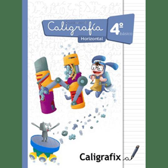 Cuaderno De Caligrafia 4 Basico Horizontal