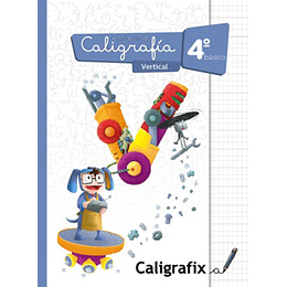 Cuaderno De Caligrafia 4 Basico Vertical