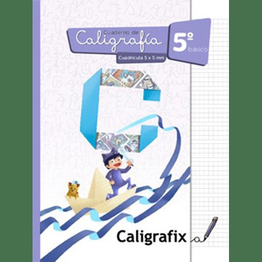 Cuaderno De Caligrafia 5 Basico Cuadricula