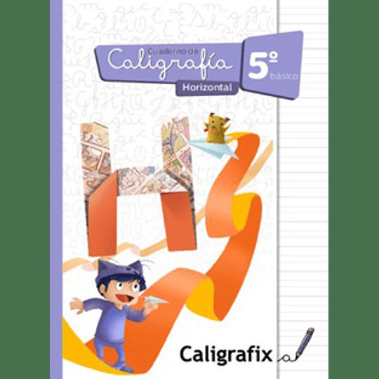 Cuaderno De Caligrafia 5 Basico Horizontal