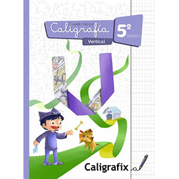 Cuaderno De Caligrafia 5 Basico Vertical