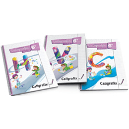 Cuaderno De Caligrafia 6 Basico Cuadricula
