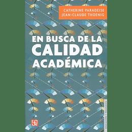 En Busca De La Calidad Academica