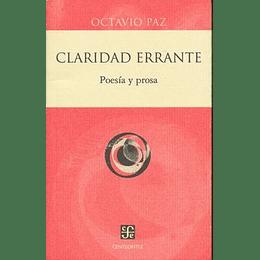 Claridad Errante Poesia Y Prosa