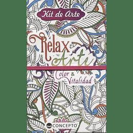Kit De Arte Relax Arte Color Y Vitalidad