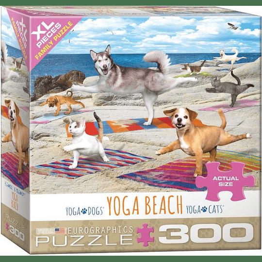 Puzzle 300 Piezas Yoga Beach