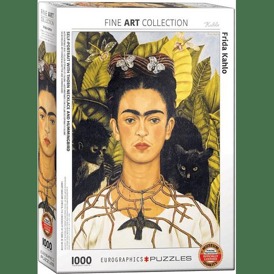 Puzzle 1000 Piezas Self-Portrait With Thorn Necklace