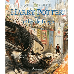 Harry Potter Y El Caliz De Fuego (Edicion Ilustrada Por Jim Kay)