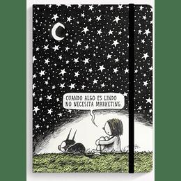 Cuaderno De Autor Noche Estrellada (Liso)