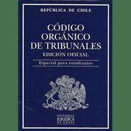 Codigo Organico De Tribunales 2021 (Estudiante)