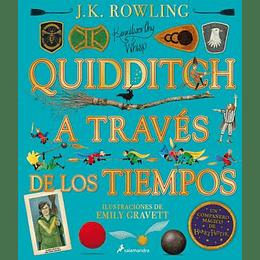 Quidditch A Traves De Los Tiempos - Ilustrado (Un Libro De La Biblioteca De Hogwarts)