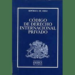 Codigo De Derecho Internacional Privado - Profesional 2021