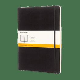Cuaderno Clasico / Xl / Negro / De Rayas
