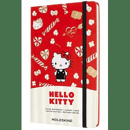 Cuaderno Hello Kitty / Grande / De Rayas