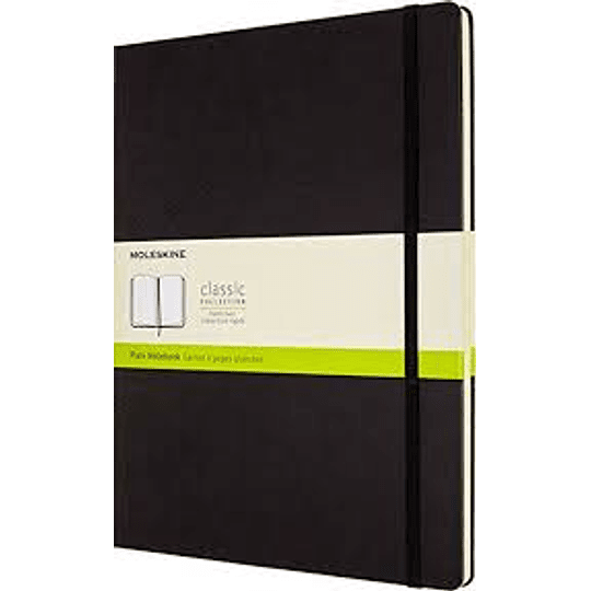 Cuaderno Clasico / Xxl / Negro / Lisa