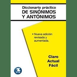 Diccionario Practico De Sinonimos Antonimos Y Paranimos
