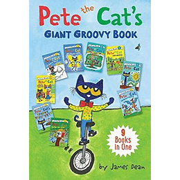 Pete The Cat'S Giant Groovy Book (9 Books In One)