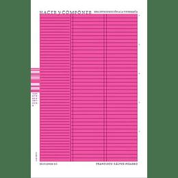 Hacer Y Componer Una Introduccion A La Tipografia