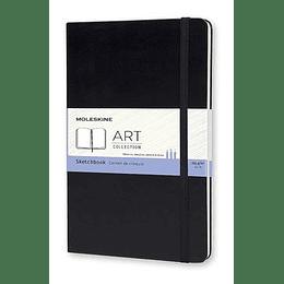 Cuaderno De Dibujo Grande Negro