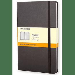 Cuaderno De Bolsillo Negro De Rayas