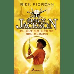 Percy Jackson 5 El Ultimo Heroe Del Olimpo