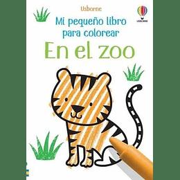 En El Zoo Mi Pequeño Libro Para Colorear
