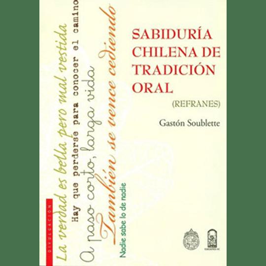 Sabiduria Chilena De Tradicion Oral