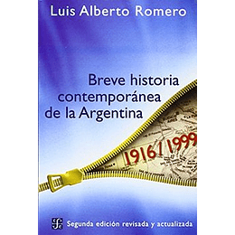 Breve Historia Contemporanea De La Argentina