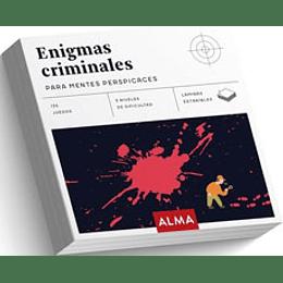 Enigmas Criminales Para Mentes Pespicaces