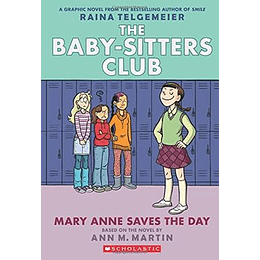 The Baby Sitters Club 3 Mary Anne Saves The Day