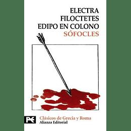 Electra Filoctetes Edipo En Colono