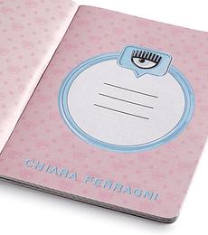 Chiara Ferragni Ed. Limitada Back to School Cuaderno A5 Holografico
