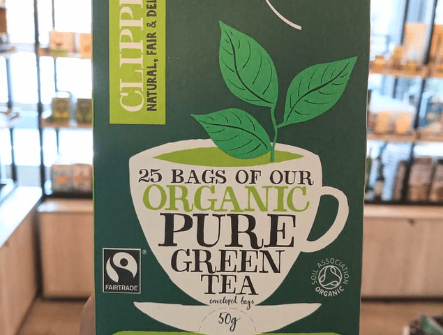 Green tea pure 25b.