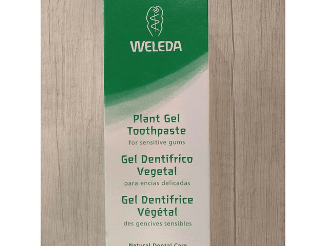 gel dentrífico vegetal
