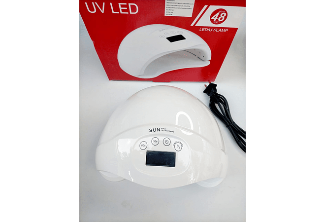 Lámpara Sun 5 PLUS PROFESIONAL de 48 watts UV + LED