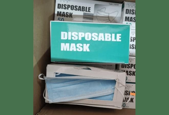 Mascarilla desechable 3 capas ADULTO