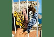 ¡¡ OFERTA !! PAQ 10PZ DIADEMA ANIMAL PRINT DIADEMA MX-36🥰