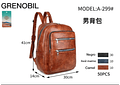 MOCHILA CABALLERO MOD: A-299# 🕶