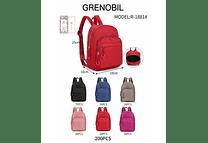 MOCHILITA GRENOBIL R-1881 🍒 ( puede variar ligeramente el diseño)