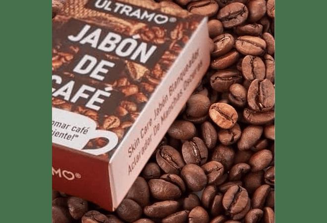 PAQ 4PZ JABÓN CAFÉ ULTRAMO