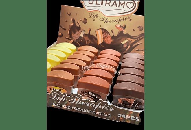 BÁLSAMO PARA LABIOS CHOCOLATE 🍫🌰