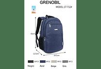 MOCHILA CABALLERO GRENOBIL MODEL#17-712