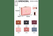 PAQ 3PZ CARTERITA MONEDERO GRENOBIL MODEL#Q-2093#