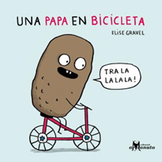 Una Papa En Bicicleta