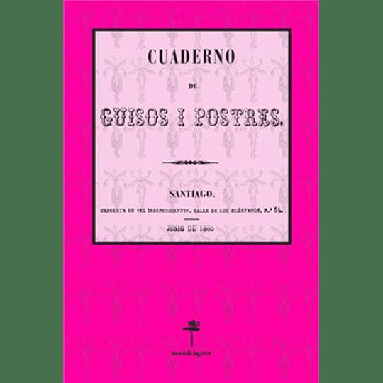 Cuaderno De Guisos Y Postres