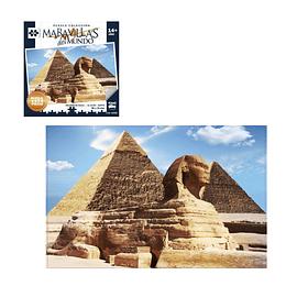 Puzzle Piramides Egipto 2000 Piezas