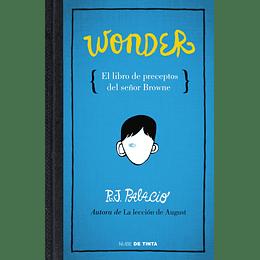 Wonder, El Libro De Los Preceptos Del Señor Browne