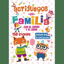 Actijuegos En Familia Con El Zorro Y El Buho
